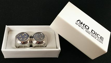 AKO DICE2 STAINLESS STEEL
