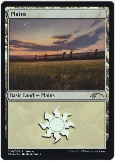 《平地/Plains》Illus.Mark Poole [その他プロモ] 土地