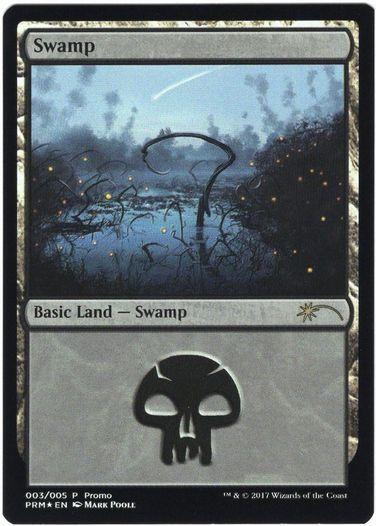 《沼/Swamp》Illus.Mark Poole [その他プロモ] 土地