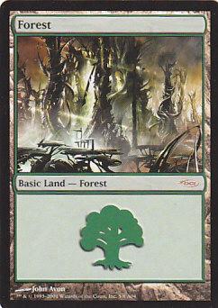 《森/Forest》[ミラディン版アリーナランド] 土地