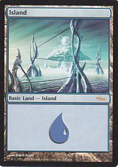 《島/Island》[ミラディン版アリーナランド] 土地