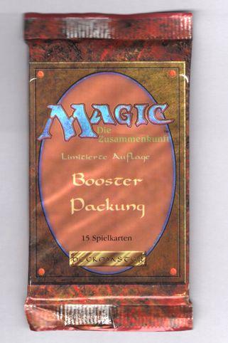 【DE】(1パック)《リバイズド ブースターパック ドイツ語版》[3ED]