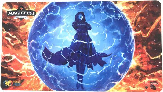 MagicFestインディアナポリス2019 プレイマット 《否定の力/Force of Negation》P1048
