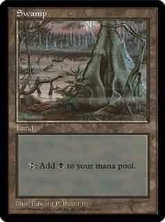 APAC1 《沼/Swamp》 Illus.Edward P.Beard Jr. 土地