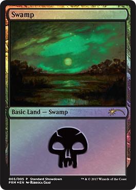 《沼/Swamp》Illus.Rebecca Guay [ショーダウン] 土地
