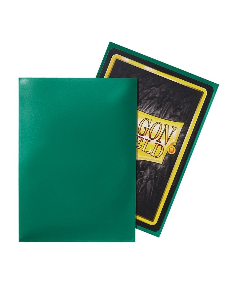 ドラゴンシールド クラシックグリーン 100枚入り AT-10004