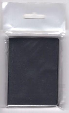 ノーブランドマットスリーブ ブラック(50枚入り)
