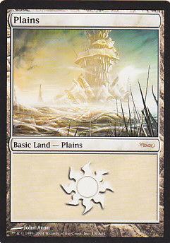 《平地/Plains》[ミラディン版アリーナランド] 土地