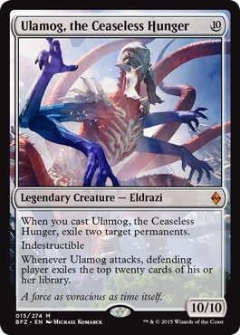 Ulamog, the Ceaseless Hunger