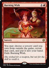 Burning Wish