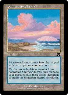 サプラーツォの岩礁