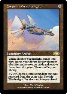 《飛翔艦ウェザーライト/Skyship Weatherlight》[PLS]茶R