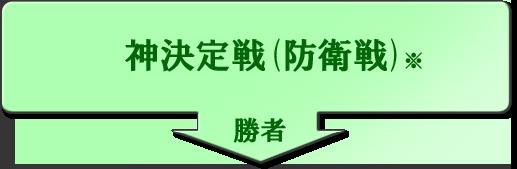 神決定戦(防衛戦)
