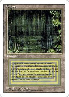 《Bayou》[3ED] 土地R