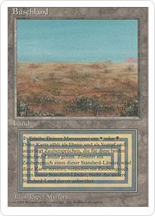 《Scrubland》[3ED] 土地R