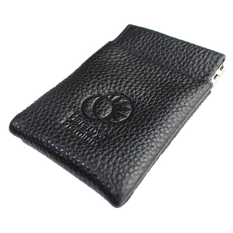 Hareruya Premium 本革コンパクトダイスポーチ (ブラック)