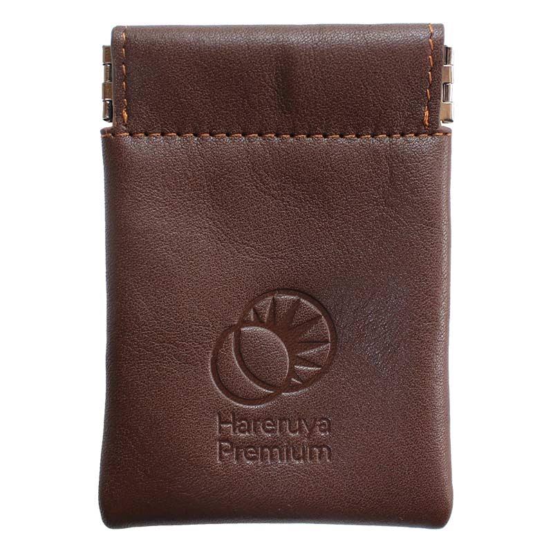 Hareruya Premium 本革コンパクトダイスポーチ (ブラウン)