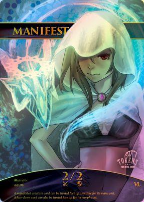 【Foil トークン】 MANIFEST (TOKENS FOR MTG.COM シリーズ6)