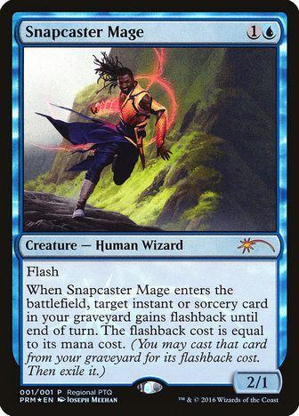 【Foil】《瞬唱の魔道士/Snapcaster Mage》[その他イベント記念系] 青
