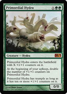 《始源のハイドラ/Primordial Hydra》[基本セット系プロモ] 緑