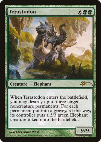 《テラストドン/Terastodon》[その他プロモ] 緑