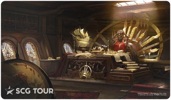 StarCityGames.com プレイマット SCG Tour Series 2019 《Captain's Quarters》 P1050