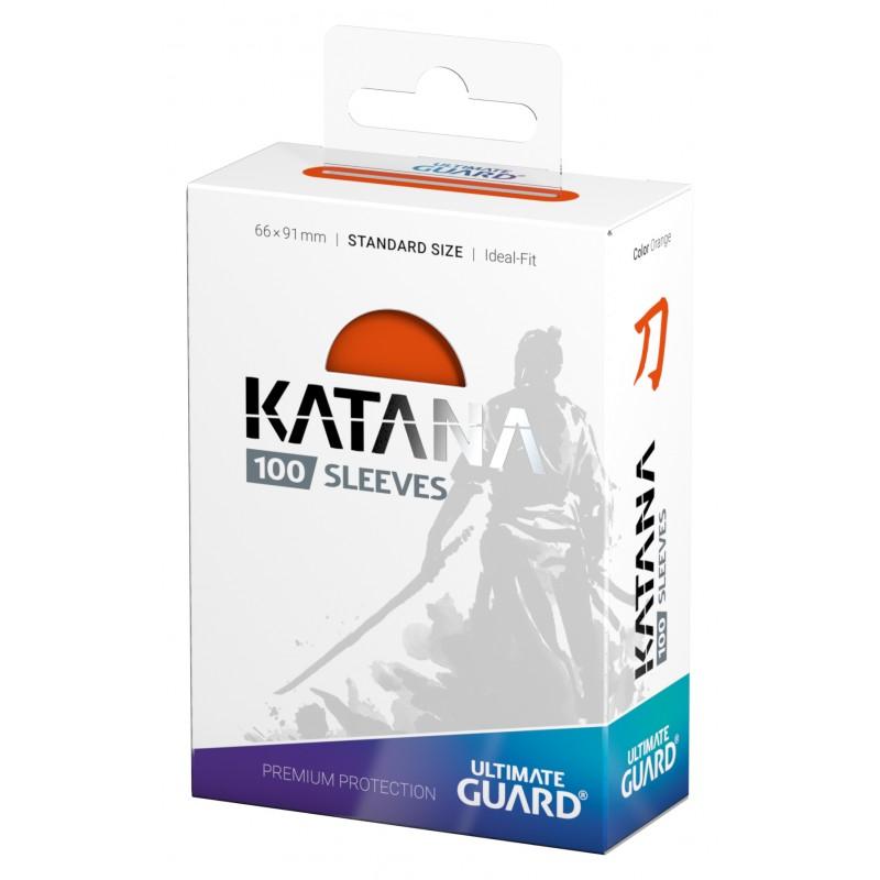 アルティメットガード社 スタンダードサイズ KATANA スリーブ (橙) 100枚入り :UGD010898