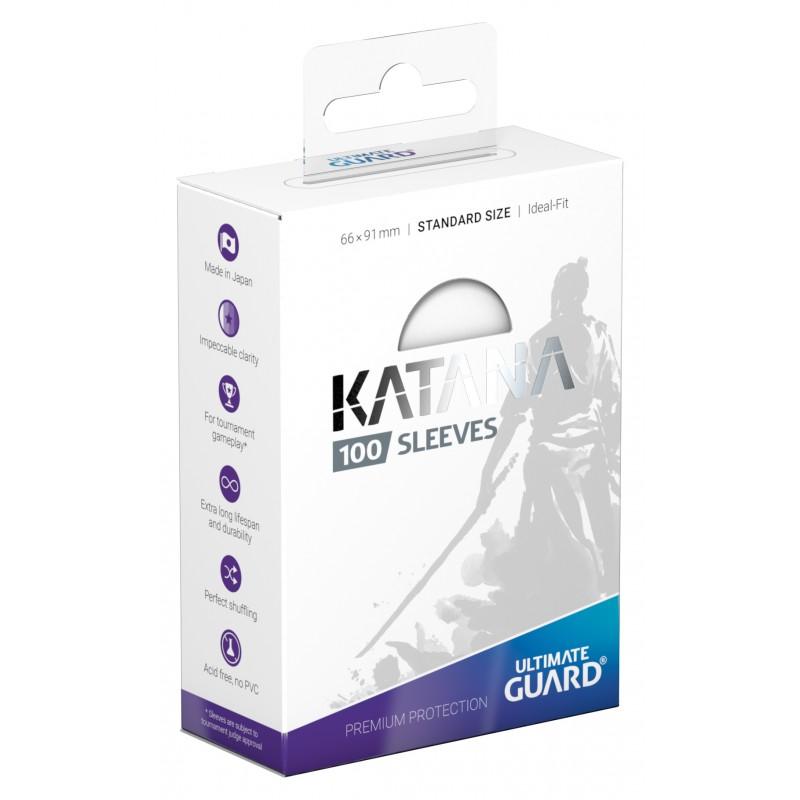 アルティメットガード社 スタンダードサイズ KATANA スリーブ (白) 100枚入り :UGD010111
