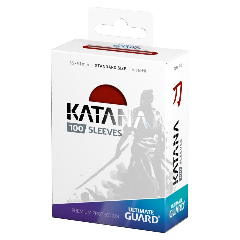 アルティメットガード社 スタンダードサイズ KATANA スリーブ (赤) 100枚入り :UGD010109