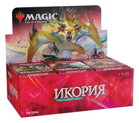 (36パック)《イコリア:巨獣の棲処 ブースターBOX》《ロシア語版》[IKO]
