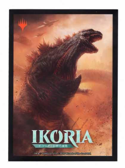 『イコリア:巨獣の棲処』限定カードスリーブ《逃れ得ぬ災厄、ゴジラ/Godzilla, Doom Inevitable》