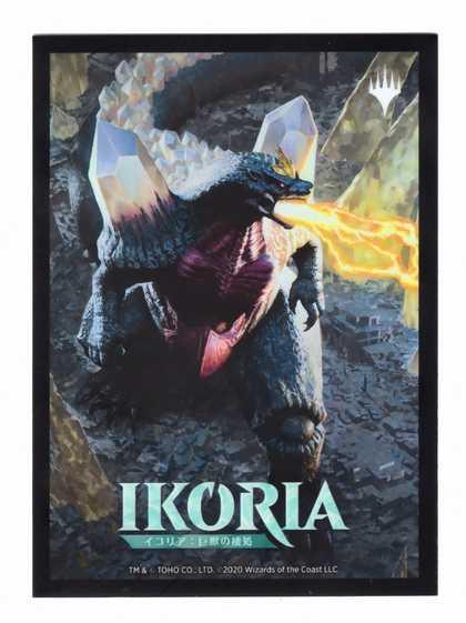『イコリア:巨獣の棲処』限定カードスリーブ《虚空の侵略者、スペースゴジラ/Spacegodzilla, Void Invader》