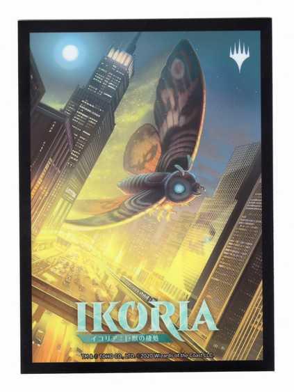 『イコリア:巨獣の棲処』限定カードスリーブ《超音速女王、モスラ/Mothra, Supersonic Queen》
