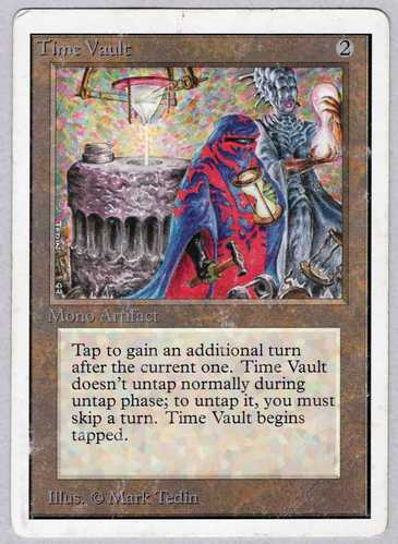 《Time Vault》[2ED] 茶R