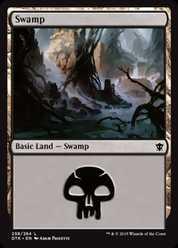 《沼/Swamp》(258)[DTK] 土地