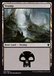 《沼/Swamp》(257)[DTK] 土地
