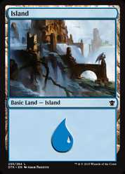 《島/Island》(255)[DTK] 土地