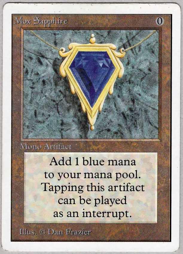 《Mox Sapphire》[2ED] 茶R