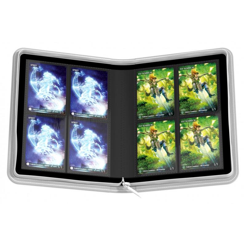 アルティメットガード社 4ポケット バインダー ゼノスキン (白) :UGD010352