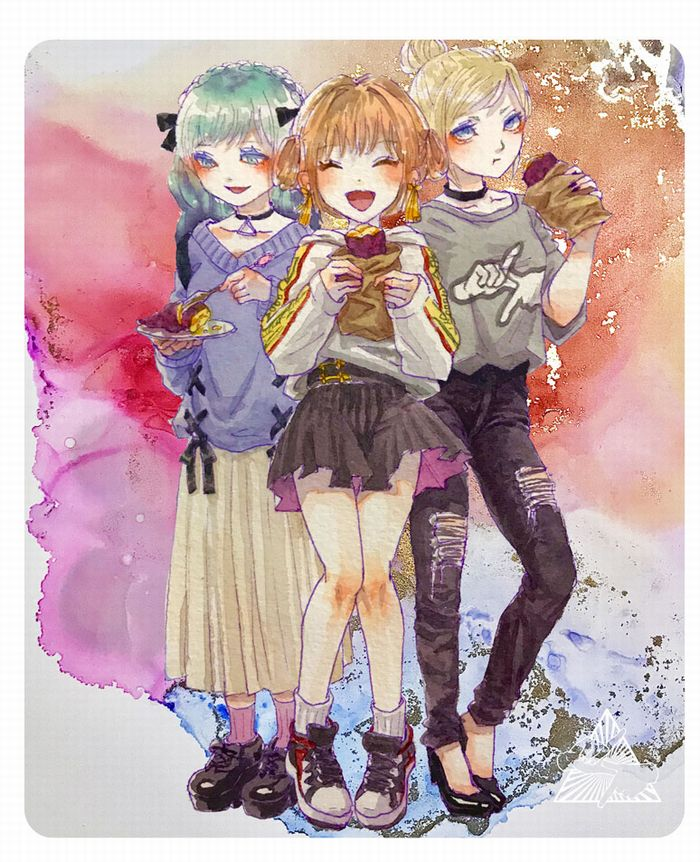 【でんちゃん☆オリジナルマウスパッド】#02 「でんガール・マウスパッド」