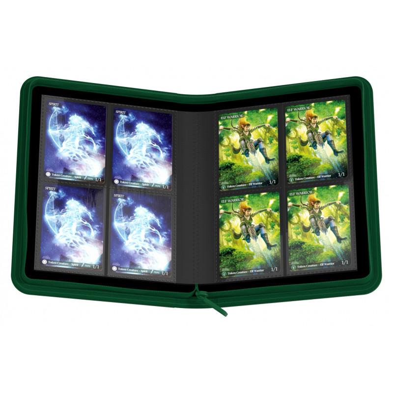 アルティメットガード社 4ポケット バインダー ゼノスキン (灰色) :UGD010431