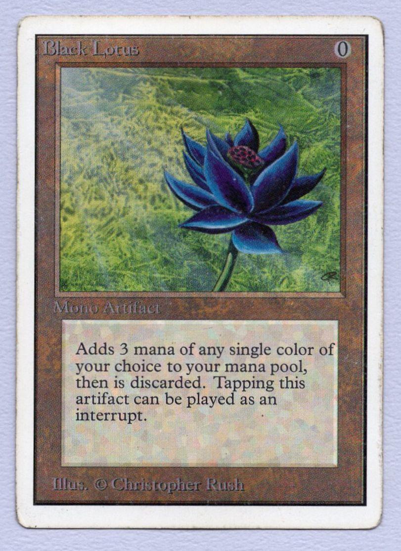 《Black Lotus》[2ED] 茶R