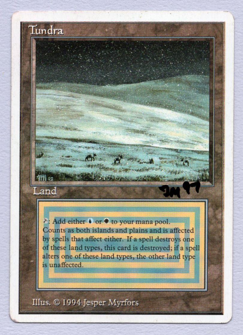 《Tundra》[Summer Magic] 土地R