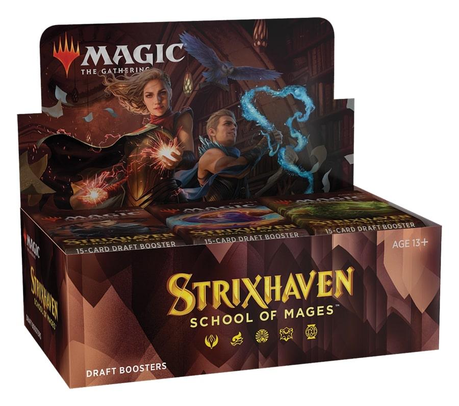 『予約商品』(36パック)《ストリクスヘイヴン:魔法学院 ドラフト・ブースターBOX》《●英語版》[STX]