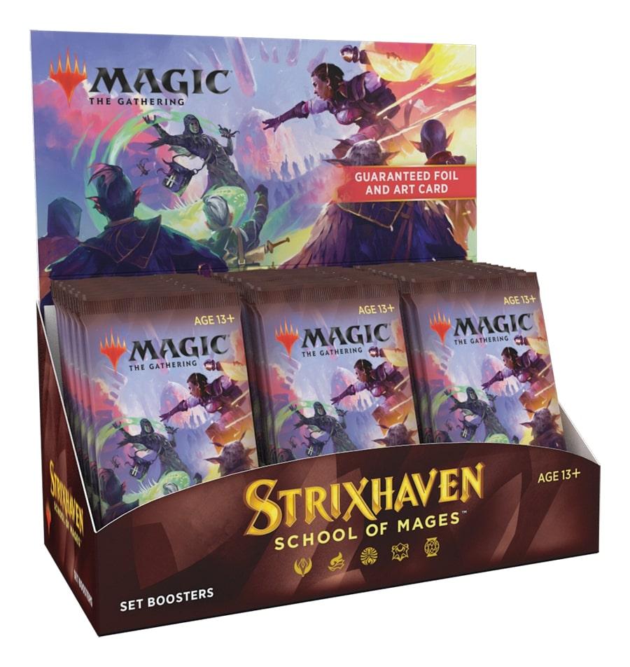 『予約商品』【キャンペーン】(30パック)《ストリクスヘイヴン:魔法学院 セット・ブースターBOX》《●英語版》[STX]