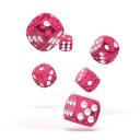 oakie doakie DICE 12mm Speckled - Pink 36個入り :ODD400019
