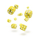 oakie doakie DICE 12mm Translucent - Yellow 36個入り :ODD400012