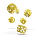 oakie doakie DICE 16mm Marble - Yellow 12個入り :ODD410006