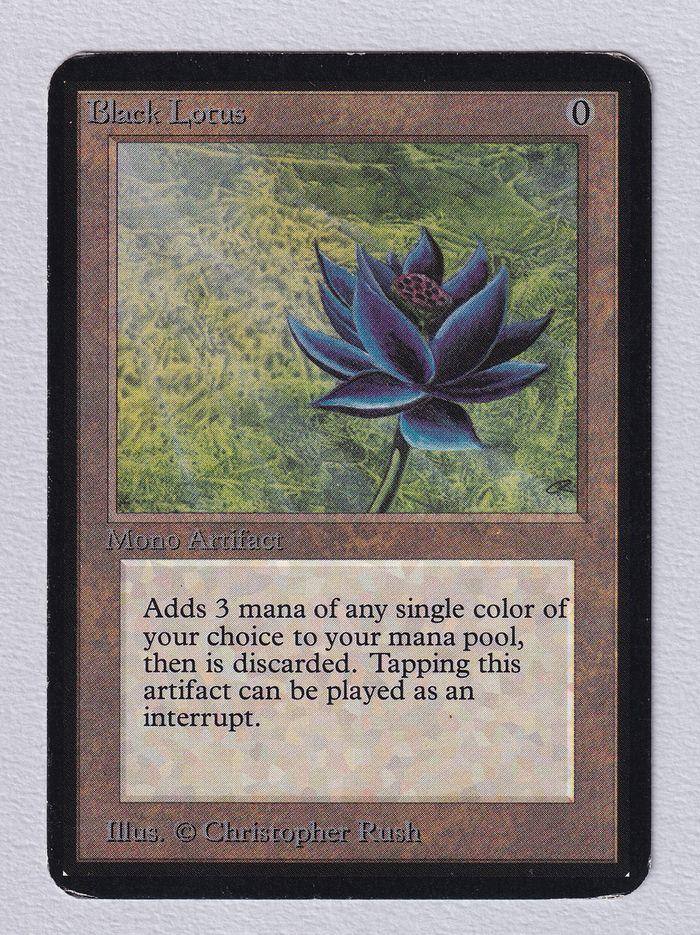 《Black Lotus》[LEA] 茶R