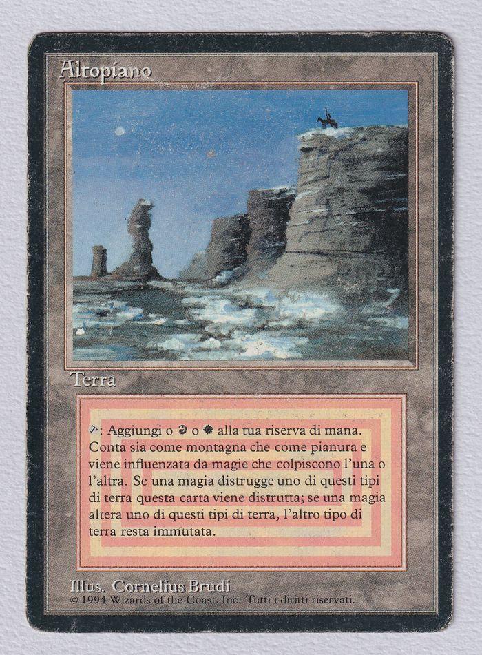 【黒枠】《Plateau》[3EDBB] 土地R